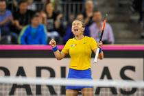 Simona Halep, victorie in FedCup