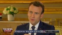 Emmanuel Macron, interviu pentru Fox News