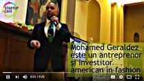 Antreprenorul american Mohamed Geraldez