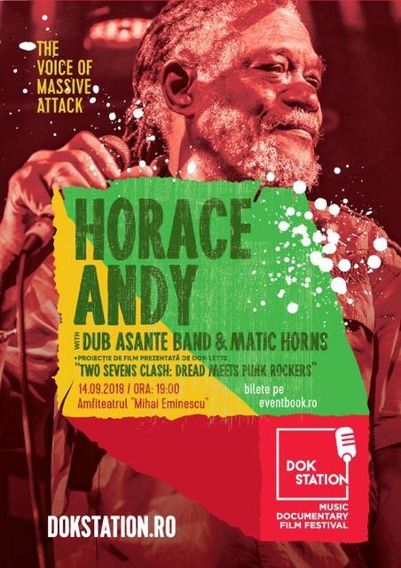 poster Horace Andy live DokStation 2018