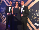 Echipa PeliFilip la Chambers Europe Awards
