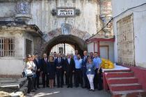 T. Toader, vizita la Penitenciarul Jilava