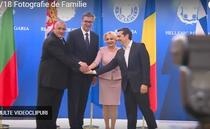 Viorica Dancila, alaturi Boiko Borisov, Aleksandar Vucic si Alexis Tsipras