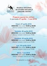 Program special 27 aprilie_1 mai