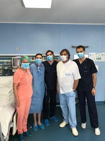 Primul transplant de plmâni