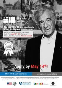 Poster Elie Wiesel