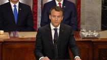 Emmanuel Macron, discurs in Congresul SUA