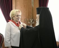 Viorica Dancila si Patriarhul Ierusalimului