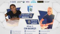 Barbara Lazovic si Elizabeth Omoregie, noile jucatoare ale CSM Bucuresti