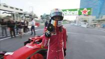 Sebastian Vettel, pe circuitul de la Baku
