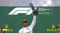 Lewis Hamilton, invingator la Baku