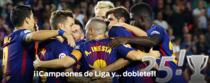 FC Barcelona, campioana Spaniei in 2018