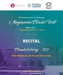 Regal pianistic la Palatul Mogosoaia