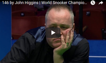 John Higgins, break de 146 la CM de Snooker