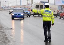Politist in trafic (foto arhiva)