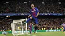 Luis Suarez, gol pentru Barcelona