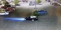 Drifturi in parcarea mallului Baneasa