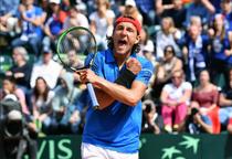 Lucas Pouille, victorie pentru Franta in Cupa Davis