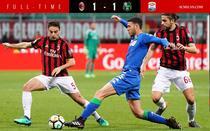 Milan, remiza cu Sassuolo