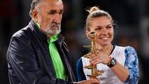 Simona Halep, Ion Tiriac si trofeul de la Madrid