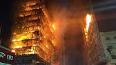 Incendiu zgarie-nori Sao Paulo