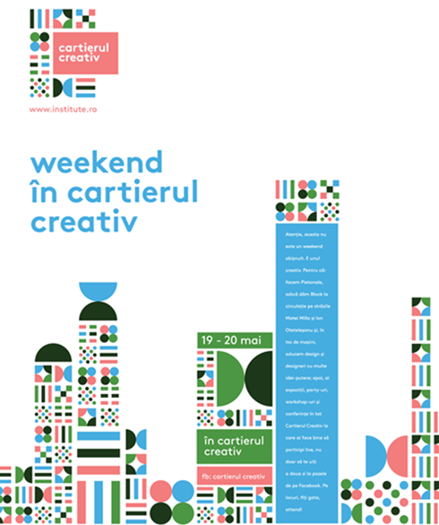 Weekend in cartierul creativ