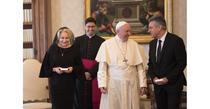 Dancila si Papa Francisc