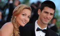 Jelena si Novak Djokovic