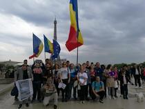 Protestatari in Paris