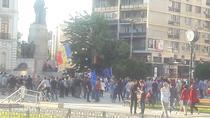 Protest Piata Unirii din Iasi