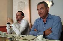 Liviu Dragan, fondator Total Soft, Dragos Metea, CEO Druid