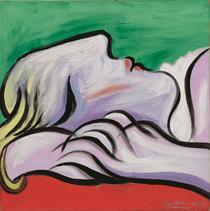 Le Repos, de Pablo Picasso