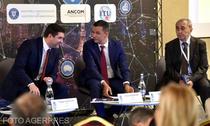 Sorin Grindeanu, preedintele ANCOM, si Petru Cojocaru, Ministrul Comunicatiilor
