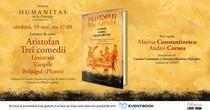Trei comedii. Lysistrata, Viespile, Belsugul (Plutos), de Aristofan