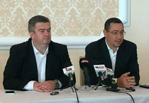 Catalin Nechifor si Victor Ponta