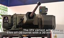 Turela ELBIT UT-30 ce va fi montata pe transportorul Piranha 5