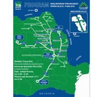 Mars motorizat din Moldova spre Capitala