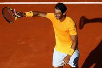 Rafael Nadal, duel cu Fognini in sferturi la Roma