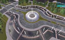 Cum vor arata fantanile de la Unirii - Simulare 3D
