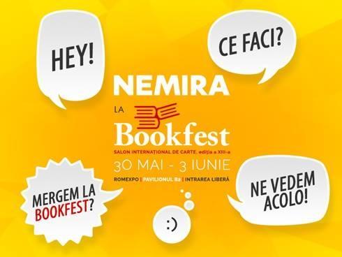 Nemira si Nemi la Bookfest 2018