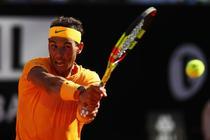 Rafael Nadal, invingator la Roma