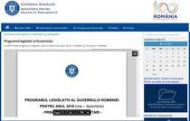 Program legislativ