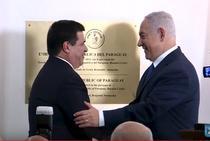 Horacio Cartes si Netanyahu