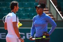 Serena Williams si Patrick Mouratoglou