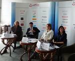 Imagine din conferinta AmCham