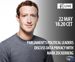 Mark Zuckerberg este audiat în Parlamentul European