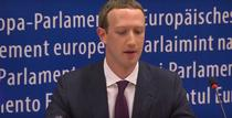 Mark Zuckerberg in Parlamentul European