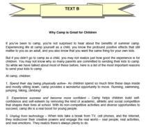 Fragment din subiectele la Limba si comunicare, engleza, clasa a VI-a