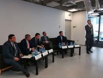 Coalitia pentru Dezvoltarea Romaniei la una din conferintele de presa