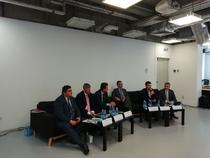 Imagine din timpul conferinei Coaliiei pentru Dezvoltarea României